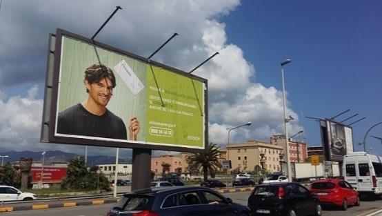 Spot pubblicitario Edison in Calabria